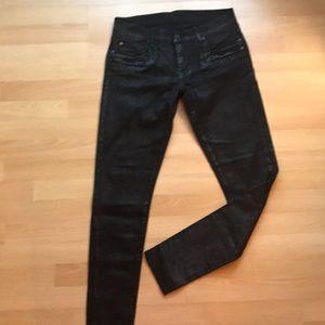Denim & Supply Ralph Lauren Leather Effect Skinny